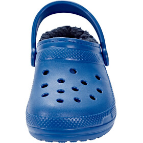 Crocs Classic Lined Clogs Unisex Blue Jean/Navy